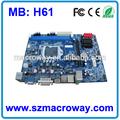 Computadora intel placas base de apoyo i3/i5/i7 procesadores