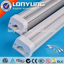 LONYUNG Patent 1-8ft 8-60w aluminum profile 6105 t5/t6 T5 LED Integrative Double Tube