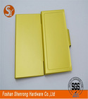 Highest performance and inexpensive orange pocket decorative pu leather business/credit card holder with belt