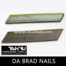 High quality Galvanized DA brad nails hardened steel concrete nails
