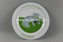 New Design Melamine Round Platter For Tableware