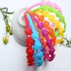 Wholesale Factory Girls Print Plastic Headband with the unique design Wholesale plastic headbands