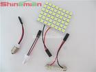 T10 5050 48-SMD LED Car LED Interior Room Dome Door Car Light Panel Lamp Bulb White