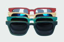 Newest most popular chinese fashion skateboard sunglasses