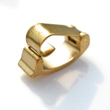 Gros argent fermoirs laiton matériel pour la fabrication de bijoux