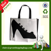 New style stock PP non woven fabric tote shopping foldable bag