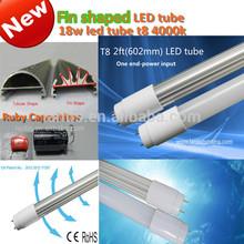 2014 Hot-sale Ruby capacitance fluorescent led tube T8 18w led tube t8 4000k,t8 led tube light CE ROHS