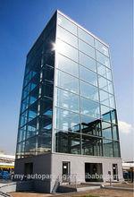8-25 Levels 3D Smart Car Parking System Steel Structure Car Parking Shed Car Stacking System Automatic Vertical Parking