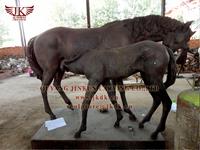 quyang carving bronze horse sculpture
