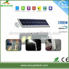 high quality motion sensor outdoor integration all in one solar street light 40w , solar led road lighting