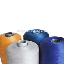 dyeing 100% spun polyester yarn