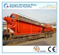 Industrial equipos de compostaje, de alta capacidad de basura orgánica de la planta de procesamiento, el procesamiento de residuos de equipos para la venta caliente