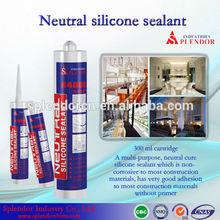 Neutral granite polymer silicone sealant china supplier/ rebar adhesive silicone sealant/ food grade silicone sealant