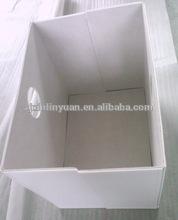 2014 hot sale popular folding storage box stools /leather pu storage box