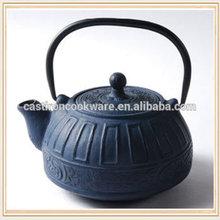 2014 Hot Sale Japanese Enamel Engraved Cast Iron Tea Kettle