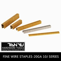 Wholesale!Fine wire staples ,galvanized common wire staples staple gun for wood