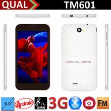Hot vente! 6 polegada Dual Core 3 g tablet pour la puissance sexuelle MTK8312 Dual Core IPS 960 * 540 front0.3MP arrière 5.0MP Bluetooth FM