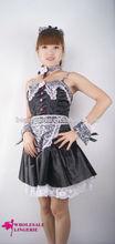 Venda quente de alta qualidade Sexy Maid Costume para meninas de partido