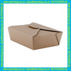 2014 new cutom high quality disposable paper lunch box made in China