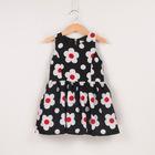 korean children clothing flower dress children frocks designs baby clothes wholesale price