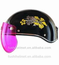 Low price ABS open half face helmet 905