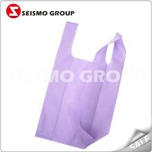 non woven t-shirt bag environmental pp non woven shopping bags