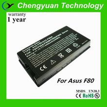 For Asus F80 X80 X82 F81 F83 X88 Series, A32-F80 A32-F80A A32-F80H battery laptop