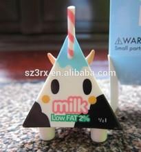 TOKIDOKI Low Fat Milk Vinyl Figure DesignerToy,custom made pvc urban vinyl for children decoration