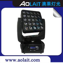 New product 5*5 25x15W Quad led matrix light gibson les paul