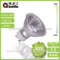 luz de alta y de alta la energía 50w gu10 lámpara halógena