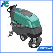 dual-brush ground cleaning machine