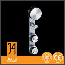 china cheap factory price glass connecter sliding tempered glass door hardware in China