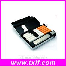 auto open aluminum cigarette holder,metal lighter cigarette case