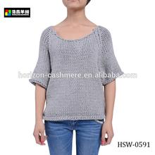 Women Hand Knitted Sweater