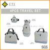 custom made travel bag set promotion