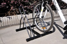 2014 home Floor indoor powder coated 2 bike rack home(ISO TUV SGS approved)