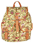 2014 European style owl casual fashion ladies canvas shoulder bag backpack bags