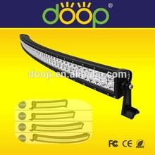 """Long 54'' 312W off road LED light bar curved light bars 12V 24V Led Driving 54"""" Light Bar"""