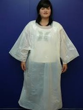 disposable PE smock / overall full body cover