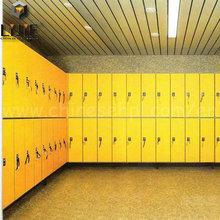 LIJIE swimming pool/gym center compact laminate locker
