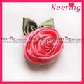 Venta al por mayor caliente venta elegante moda hermoso de raso hechos a mano flores de la cinta WBF-105
