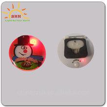 Custom LED Button Pins Light LED Lapel Pin For Sale