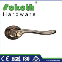 Privacy Antique Brass front door locks and handles locking door handle