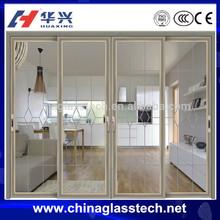 CE Standard simple indian design double swing door for kitchen