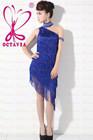 2014 latin dance costume, colorful latin dance dresses