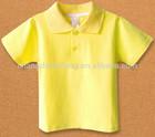 plain kids polo shirt wholesale with various colors