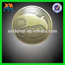 bronze die casting reasonable price coin shoe polishing machine (xdm-c223)