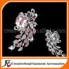 flower rhinestone brooch, acrylic brooches, jewelry making brooch