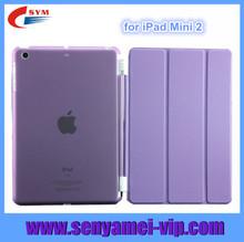 leather case for ipad mini ultra thin, case for ipad mini 2, folio magnetic smart cover