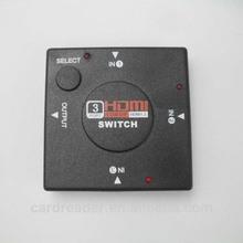 Mini HDMI Switch 3 input ports, AV Splitter/Switcher,HDMI-301,Unbranded/Generic